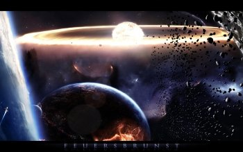 Sciencefiction - Explosie Wallpapers and Backgrounds ID : 124795