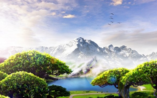 Artistic - Landscape Wallpapers and Backgrounds