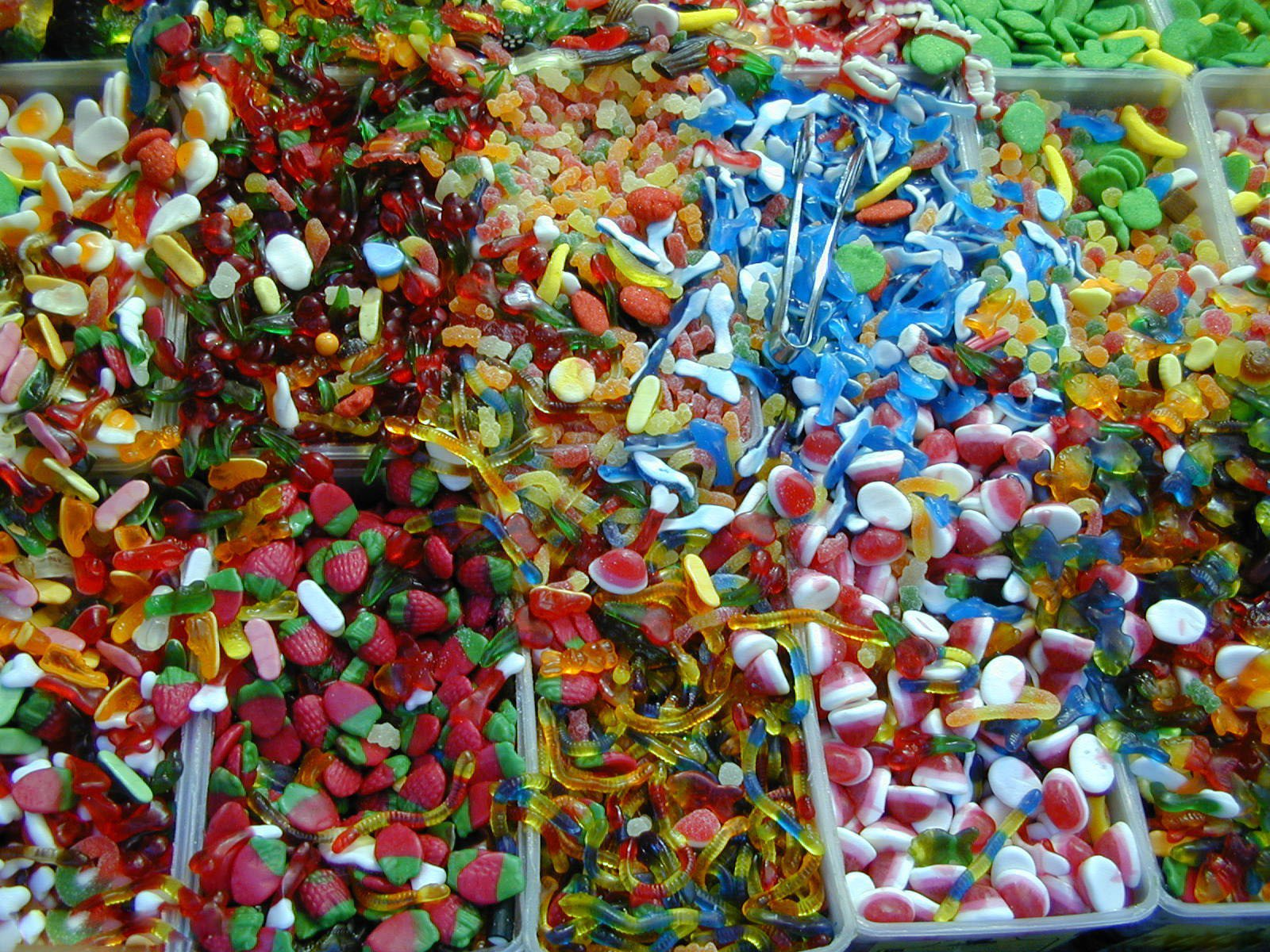 Alimento - Caramelo  Gummy Bear Fondo de Pantalla