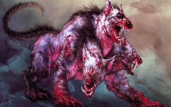 Fantasy - Cerberus Wallpapers and Backgrounds ID : 125069