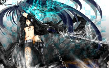 Anime - Black Rock Shooter Wallpapers and Backgrounds ID : 125085