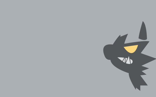 Anime Pokémon Poochyena Dark Pokémon HD Wallpaper | Background Image