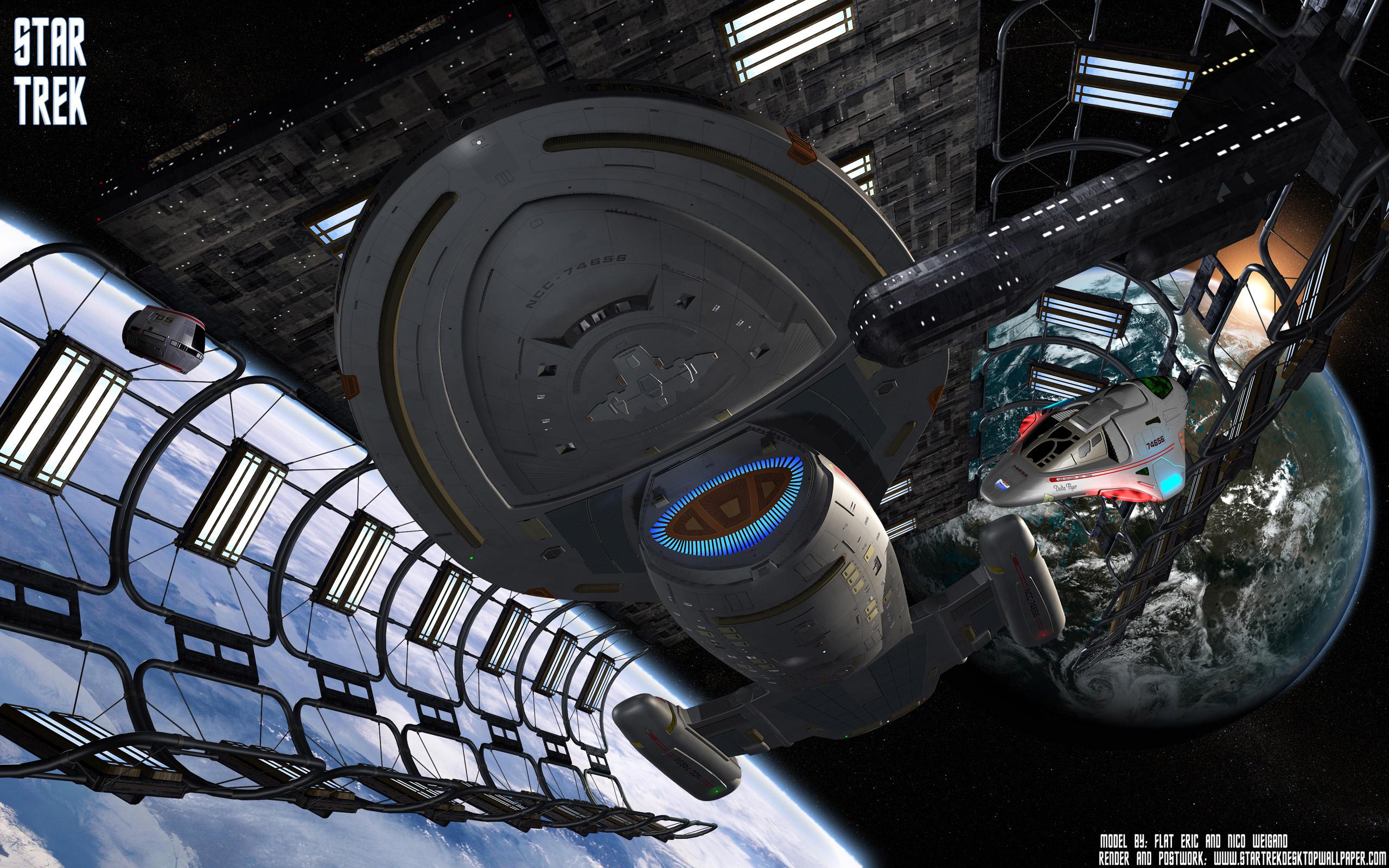 Sci Fi - Star Trek  Voyager Wallpaper