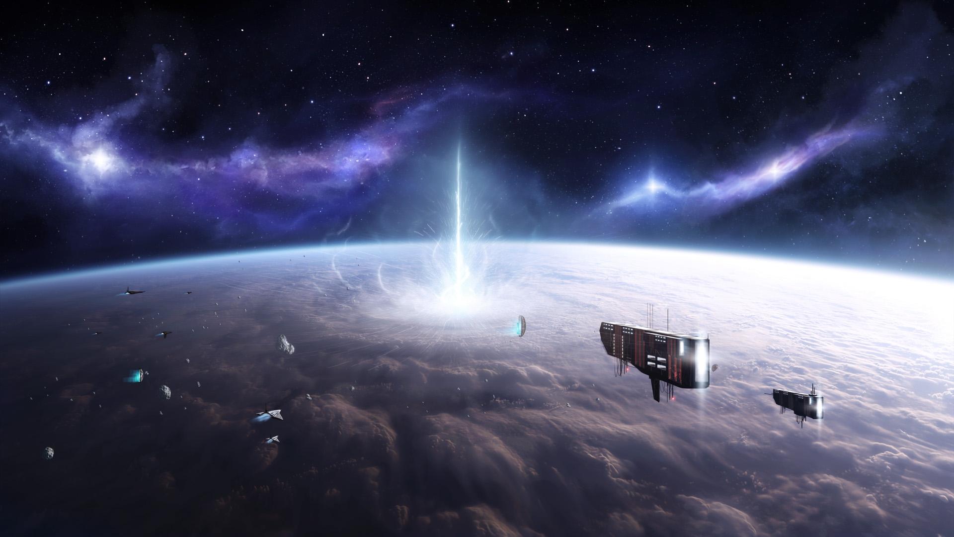 Fantascienza - Space  Planet Navicelle Spaziali Sfondi
