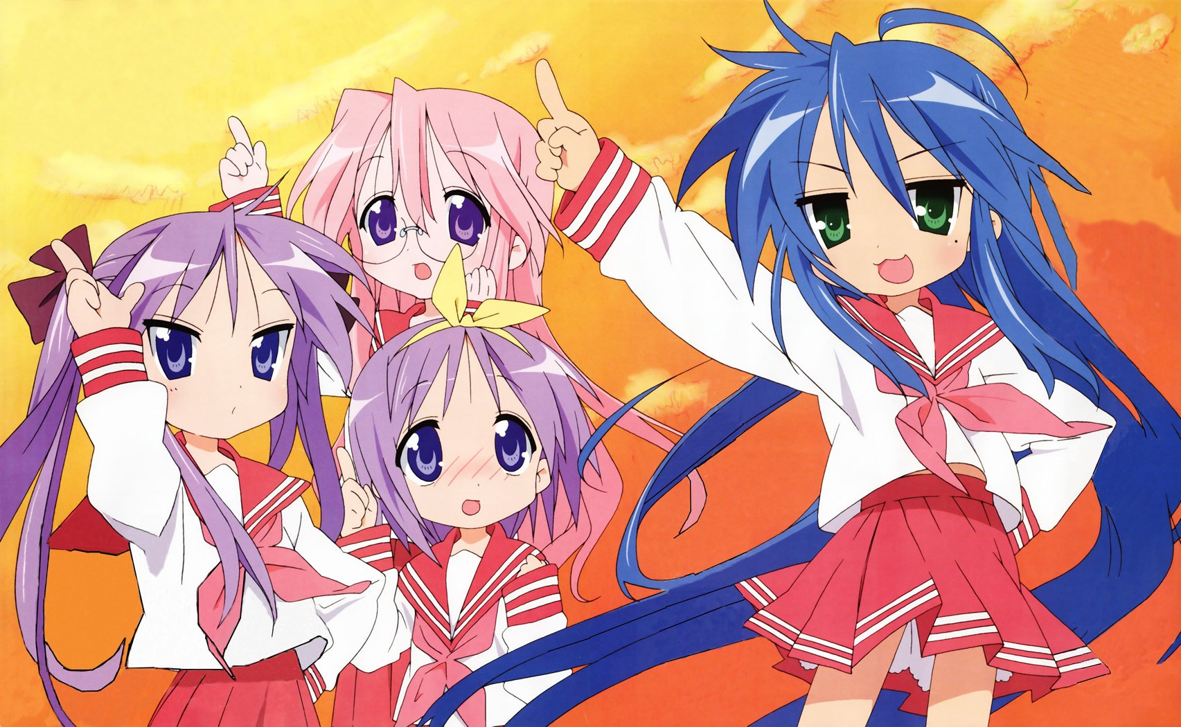 510 lucky star hd wallpapers | background images - wallpaper abyss
