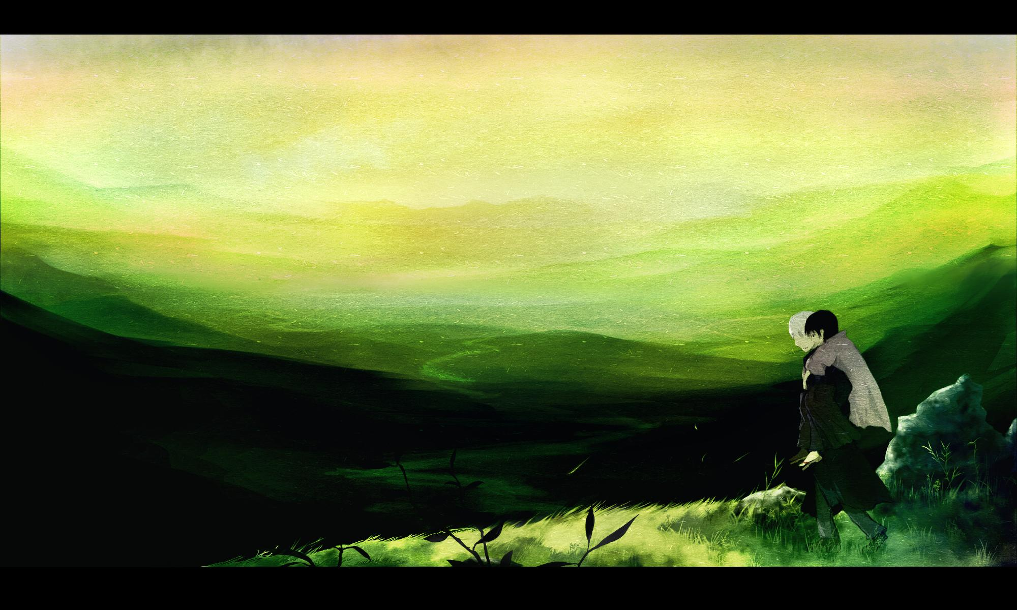 Anime - Mushishi  Ginko (Mushishi) Tanyuu Karibusa Wallpaper