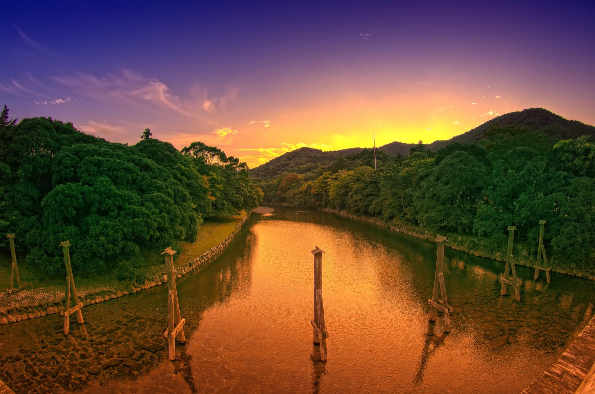 Earth - River  Wallpaper