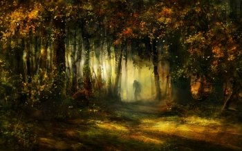 Fantasy - Forest Wallpapers and Backgrounds ID : 129275