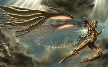 Fantasy - Angel Warrior Wallpapers and Backgrounds ID : 130015