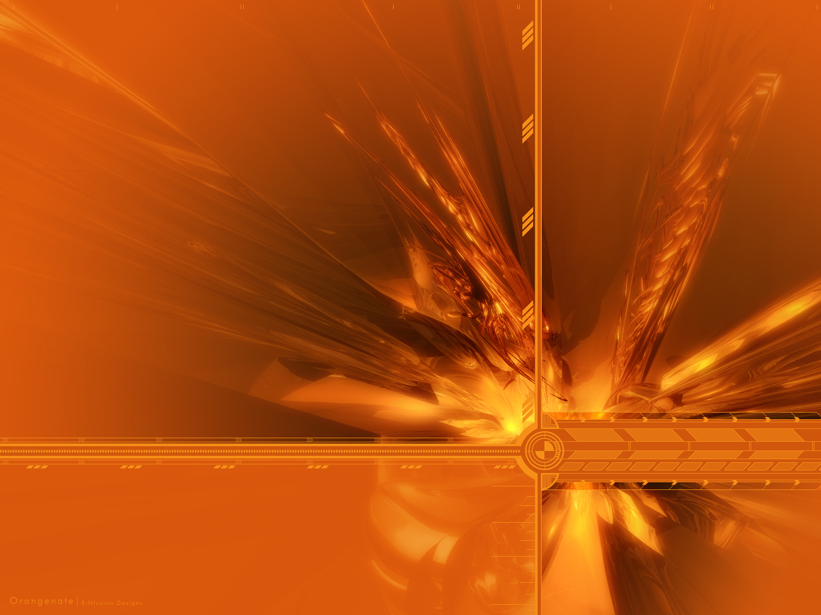 Orange Wallpaper And Background Image 1600x1200 Id 13269
