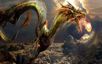 Fantasy - Drachen Wallpapers and Backgrounds ID : 132005