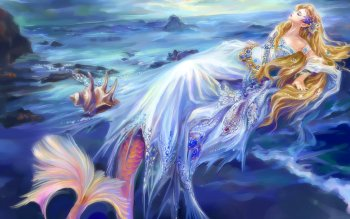 Fantasy - Mermaid Wallpapers and Backgrounds ID : 132609