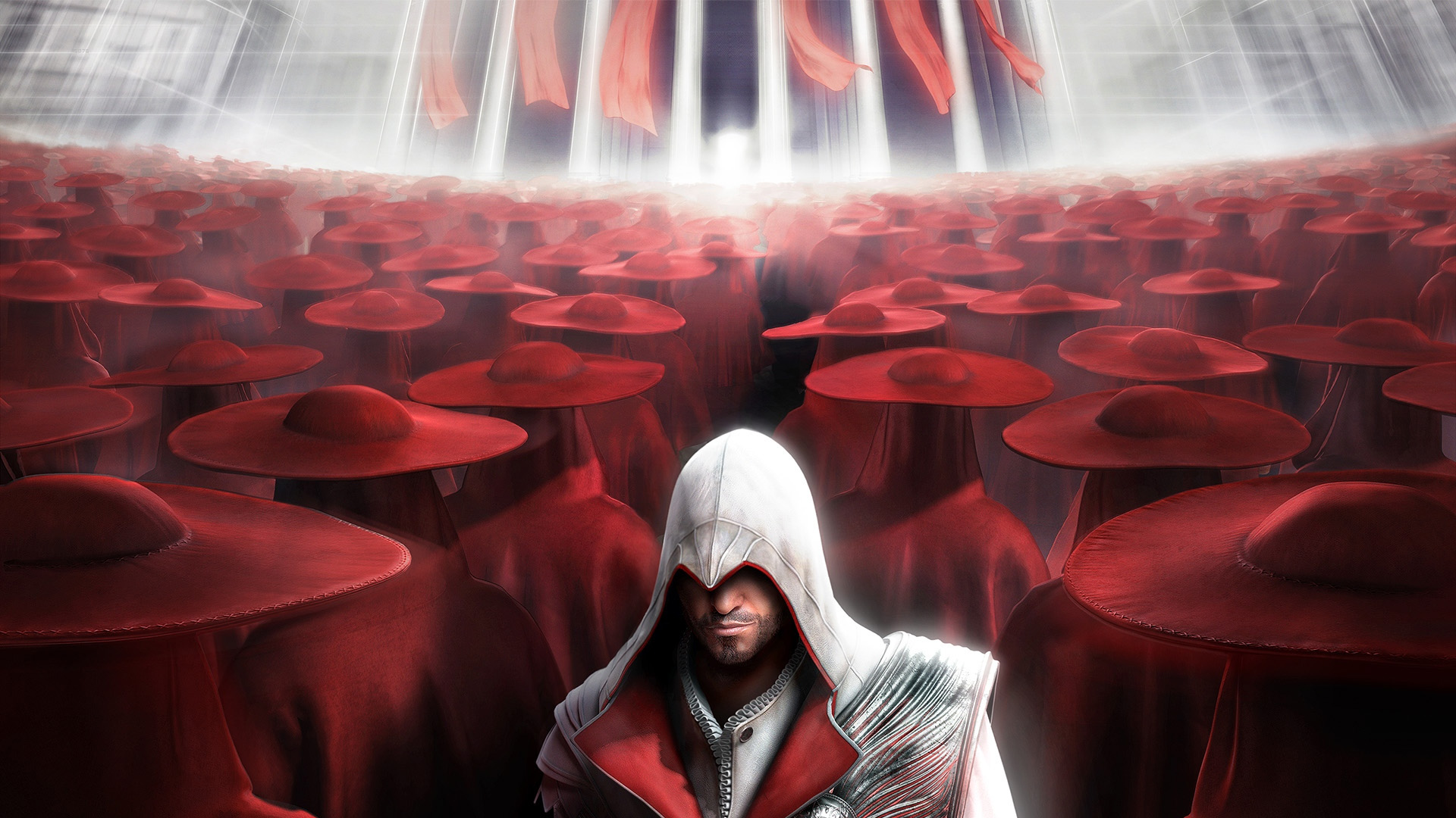 Assassin's Creed: Brotherhood HD Wallpaper | Background ...Assassins Creed Brotherhood Wallpaper 1920x1080