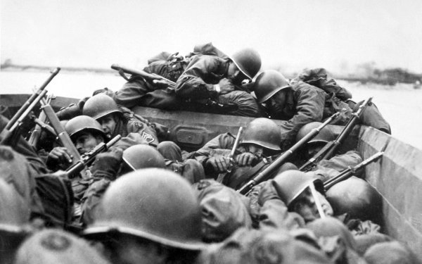Military D-Day Wars Historic HD Wallpaper | Background Image