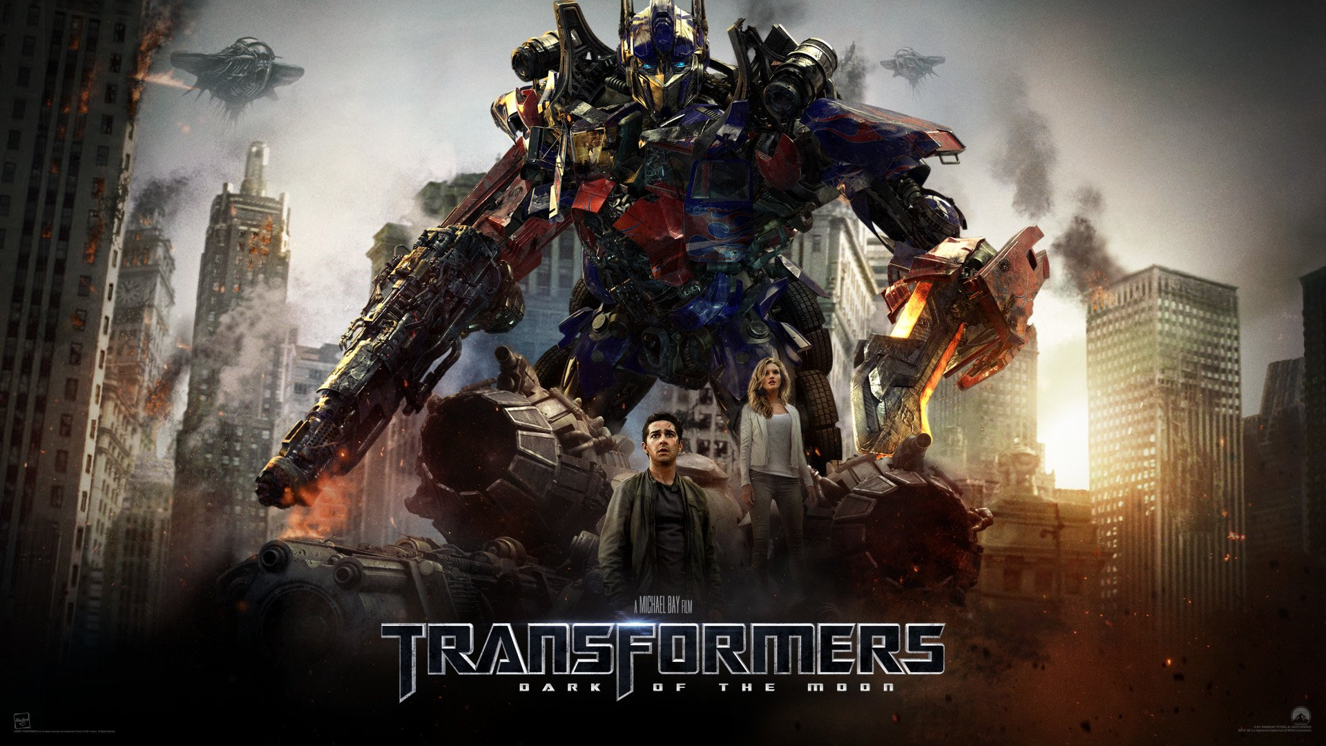Films - Transformers: Dark of the Moon  Wallpaper