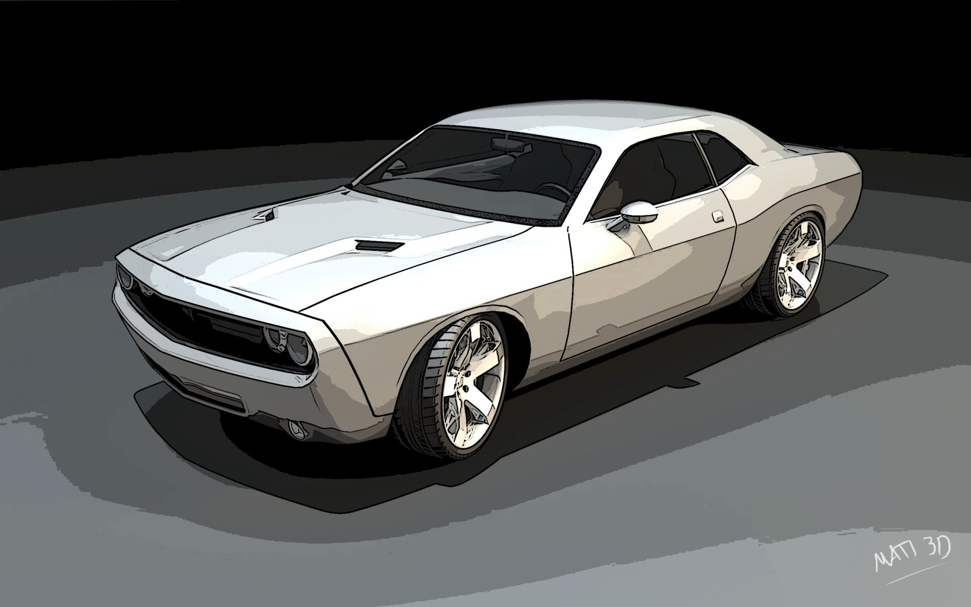 Vehicles - Dodge Challenger  Car Chalenger Dodge Wallpaper