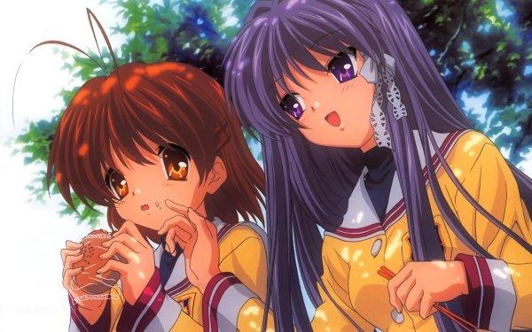 Anime Clannad Nagisa Furukawa Kyou Fujibayashi HD Wallpaper | Background Image