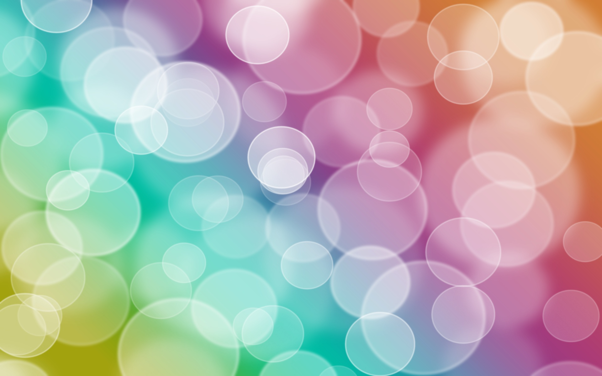 Bubbles full hd wallpaper and background image 1920x1200 id140217 abstract colors bubble circle bokeh wallpaper voltagebd