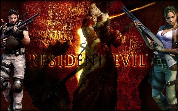 Video Game Resident Evil 5 Resident Evil Chris Redfield Sheva Alomar HD Wallpaper | Background Image