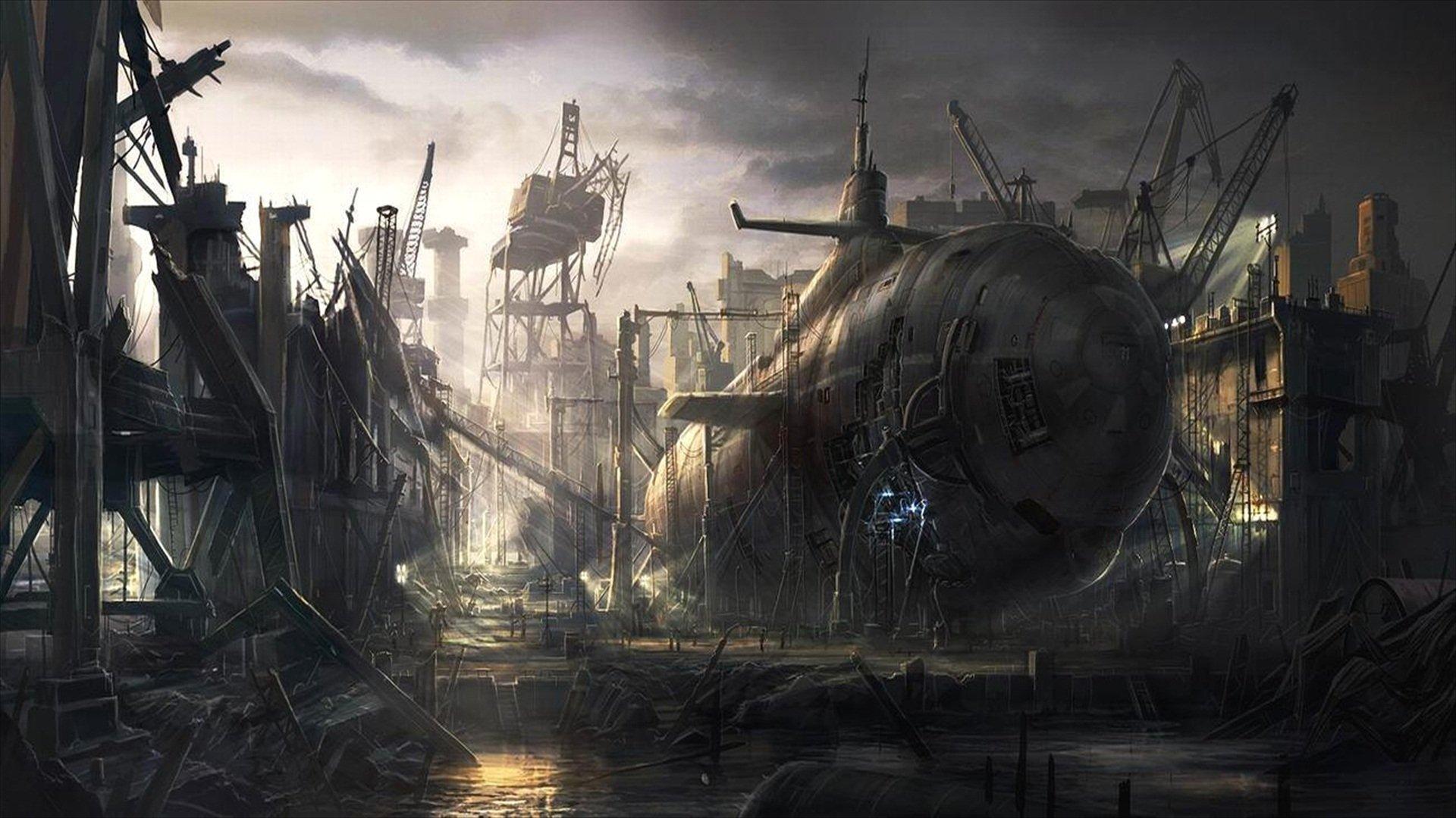 Military - Submarine  Wallpaper