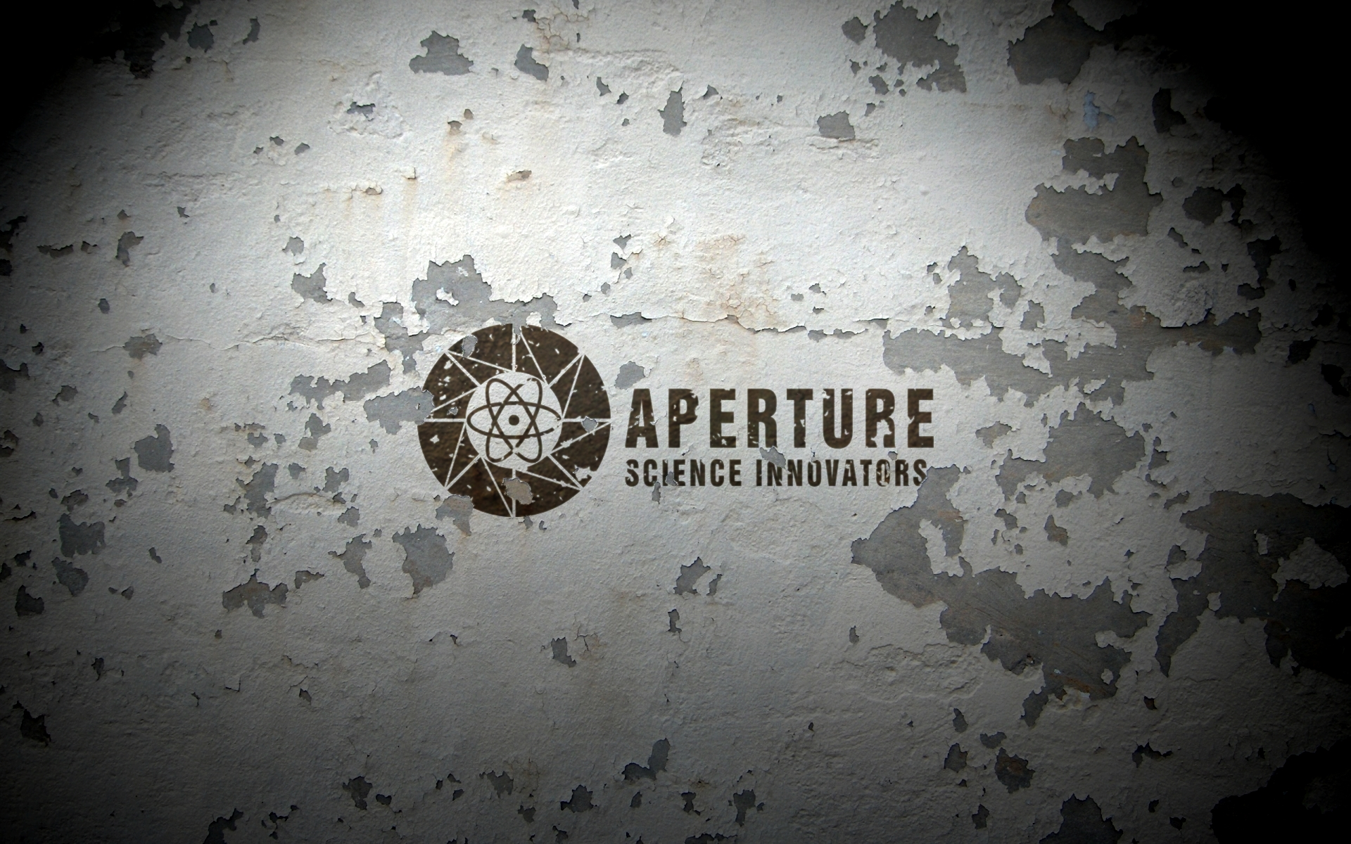 Aperture Science Innovators Peeling Paint HD Wallpaper ...Aperture Science Innovators Wallpaper