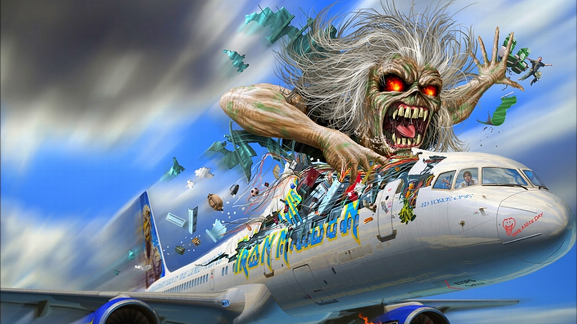 iron maiden full hd wallpaper and background 1920x1080