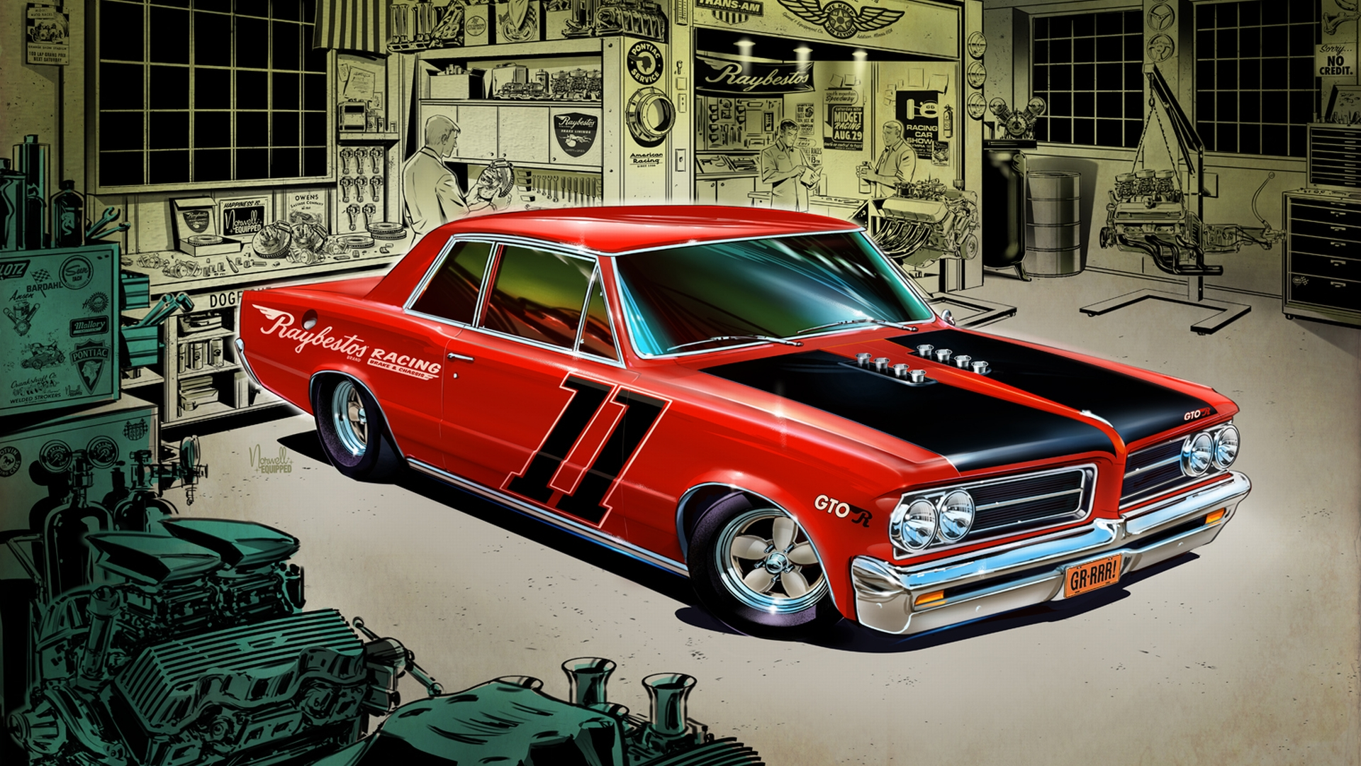 Pontiac GTO Full HD Wallpaper and Background Image | 1920x1080 | ID:143829