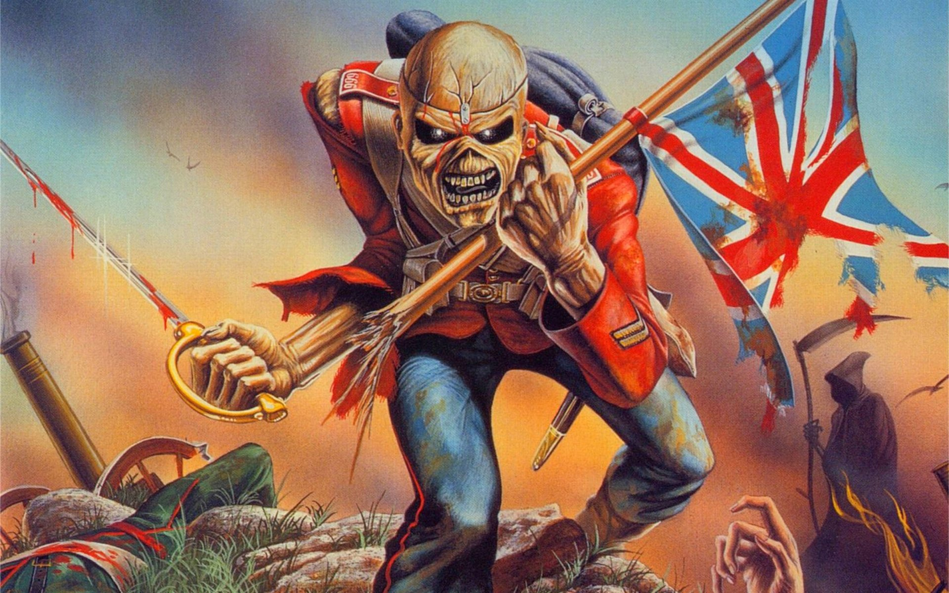 Iron Maiden · HD Wallpaper | Background ID:143357