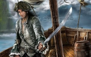 Fantasy - Pirate Wallpapers and Backgrounds ID : 143617