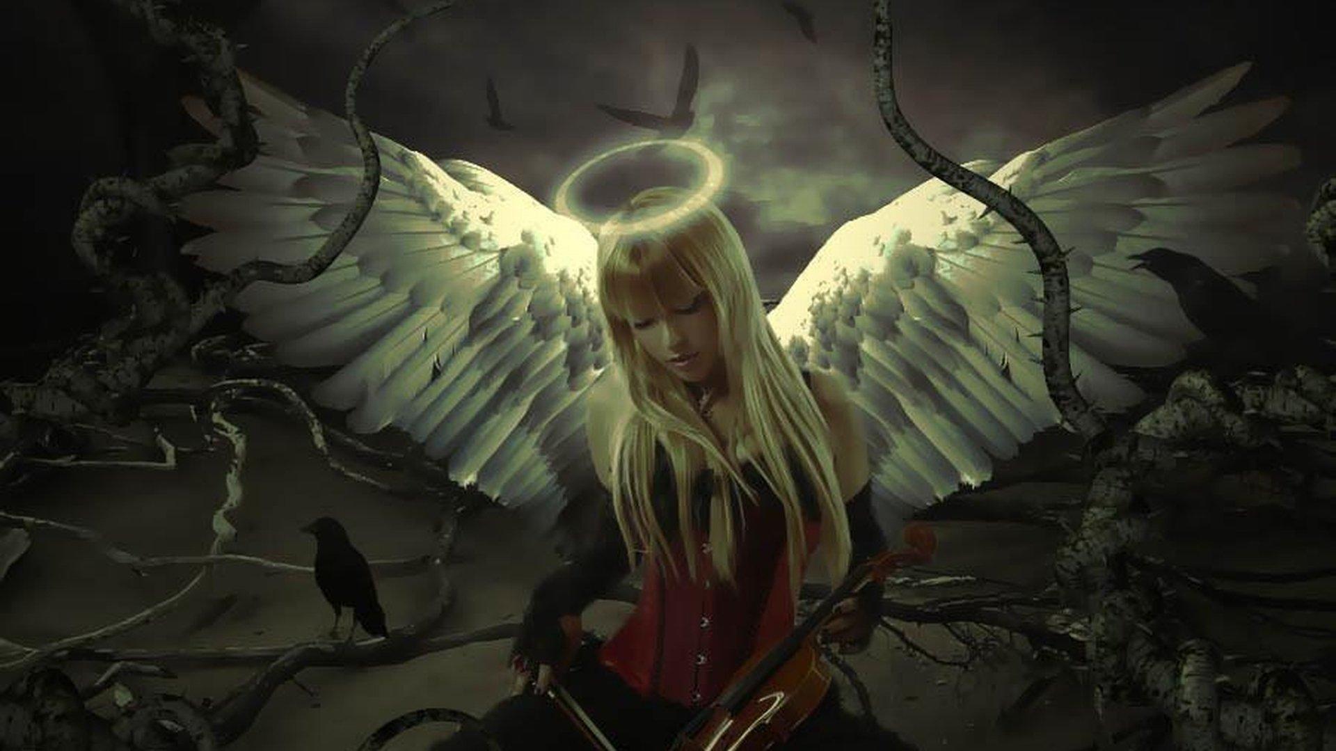 Фэнтези - Ангел  Невеста Обои