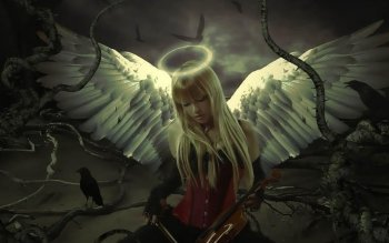 Fantasy - Angel Wallpapers and Backgrounds ID : 144289