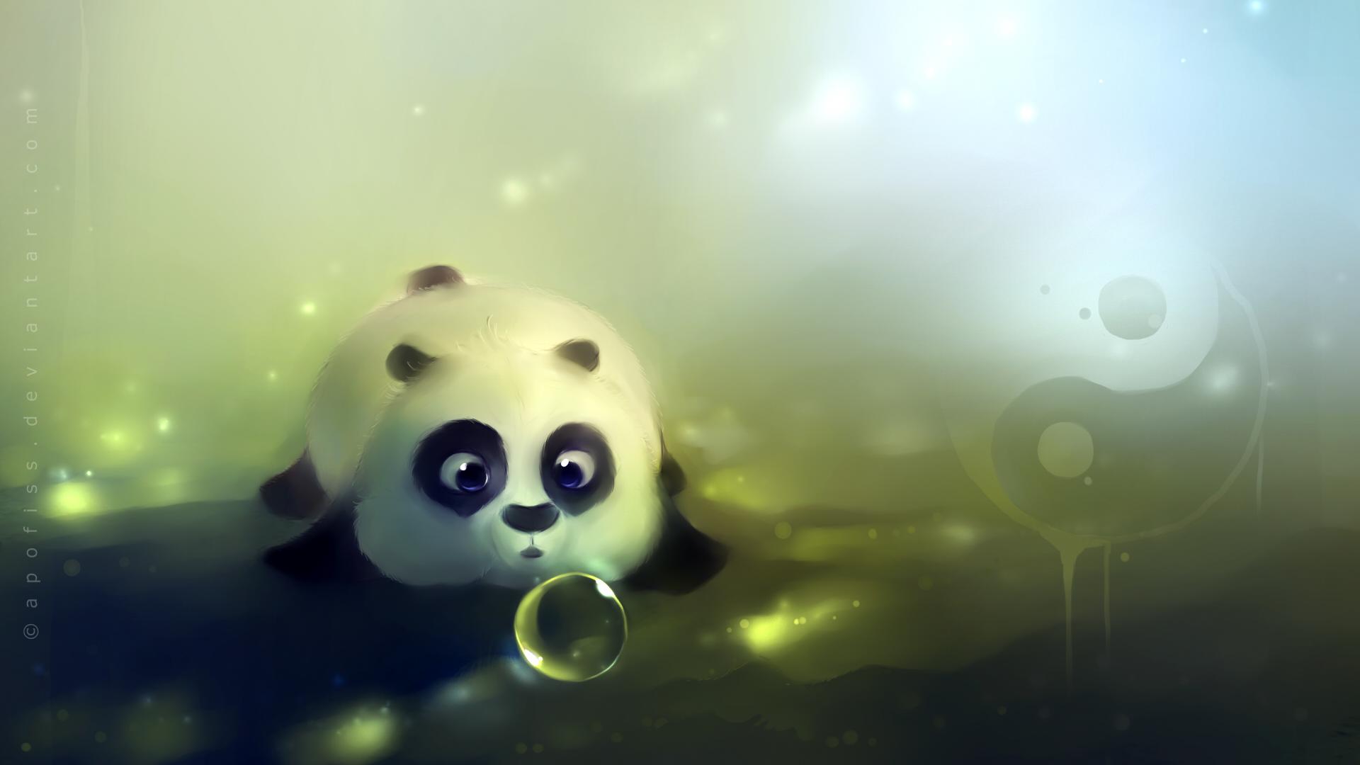 大熊猫图片大全 高清大图 动物壁纸-第2张