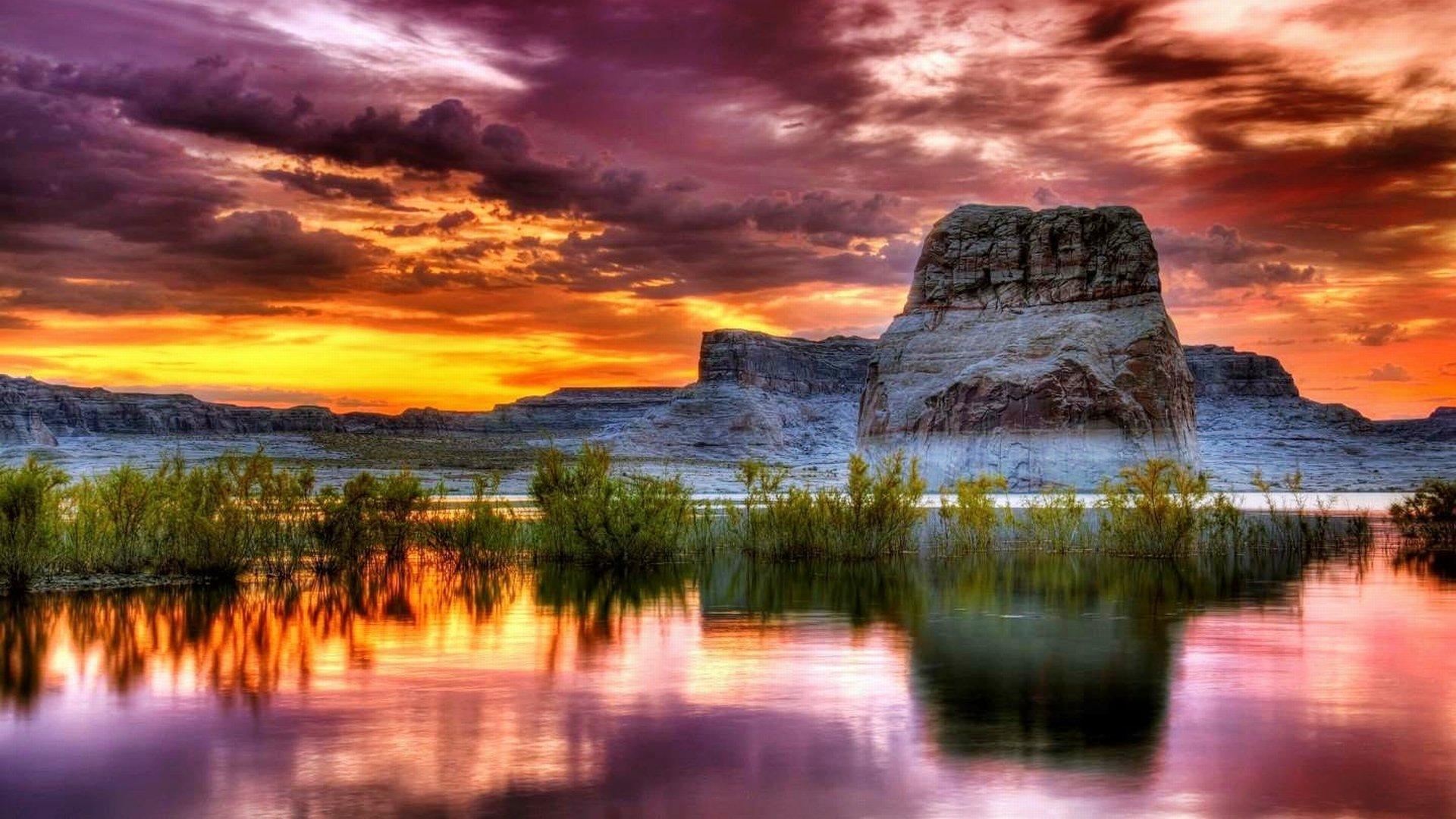 Earth - Sunset  Wallpaper