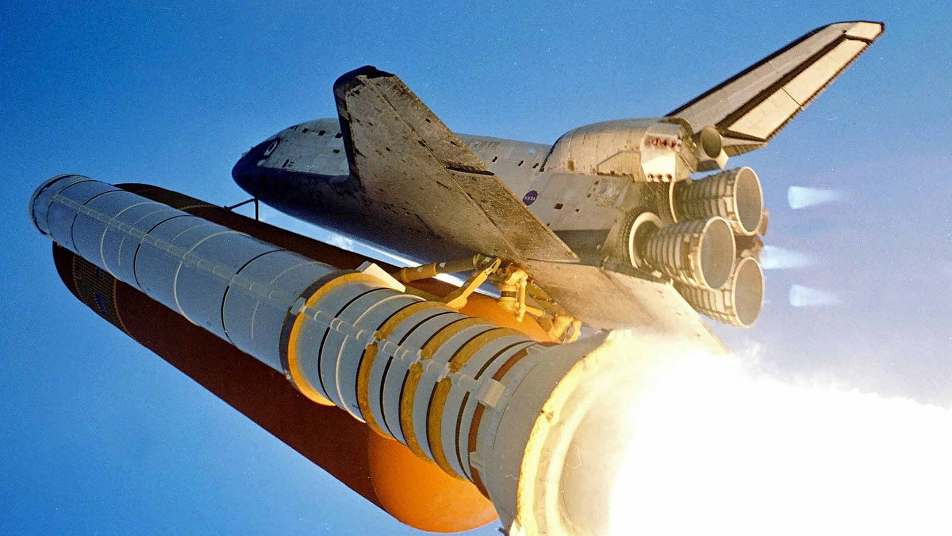 Vehicles - Space Shuttle  Nasa Lift Off Wallpaper