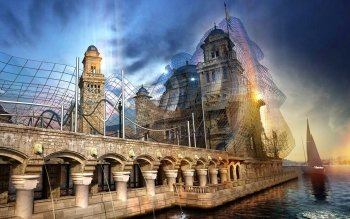Artistiek - Stad Wallpapers and Backgrounds ID : 145197