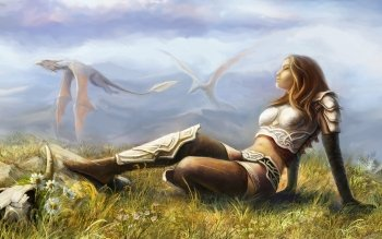 Fantasy - Women Wallpapers and Backgrounds ID : 145265