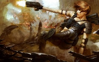 Fantasy - Women Warrior Wallpapers and Backgrounds ID : 145395