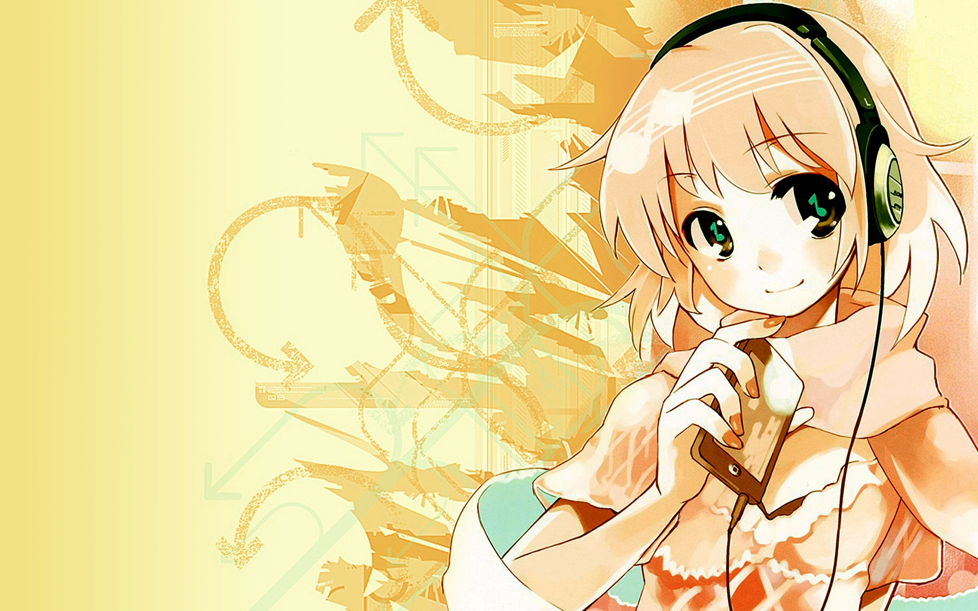 Anime - Headphones Wallpaper