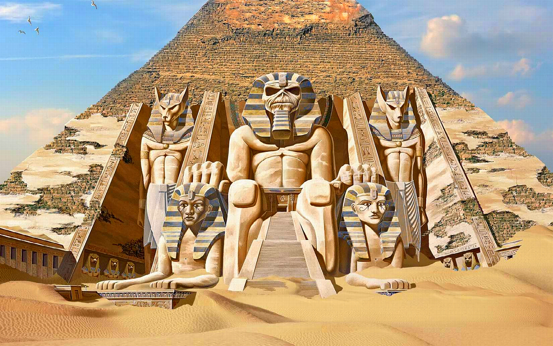 3 powerslave hd wallpapers background images wallpaper