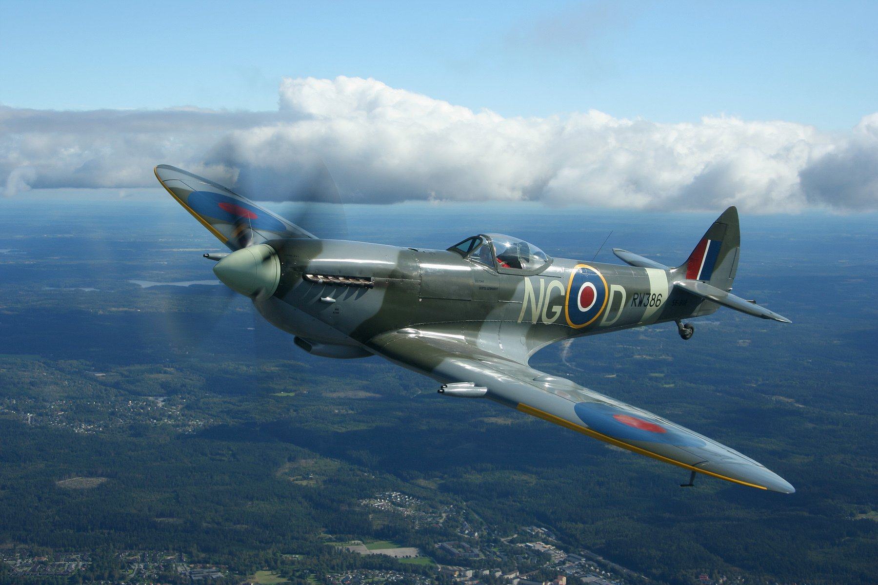 50 Supermarine Spitfire HD Wallpapers | Background Images - Wallpaper Abyss