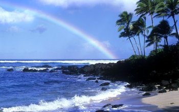 Earth - Rainbow Wallpapers and Backgrounds ID : 147299