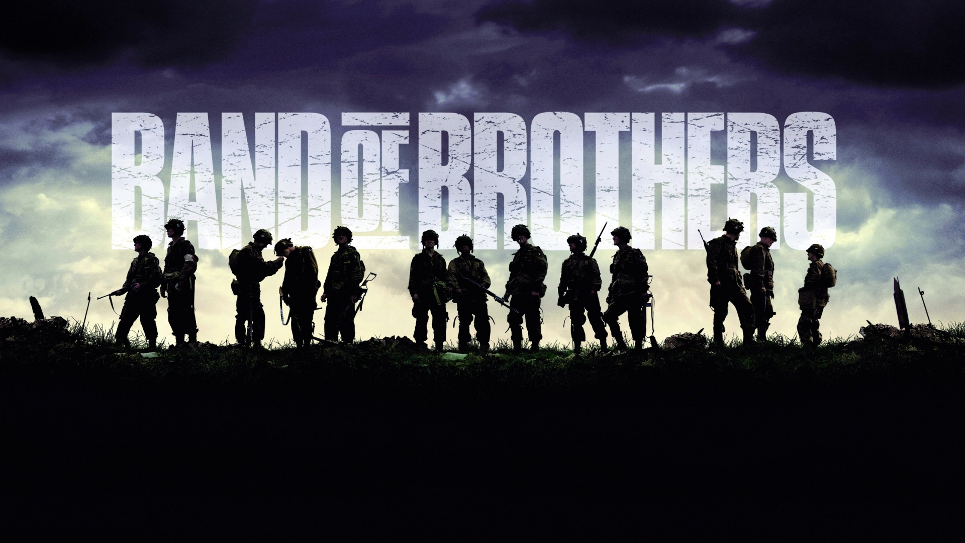Televisieprogramma - Band Of Brothers  Wallpaper