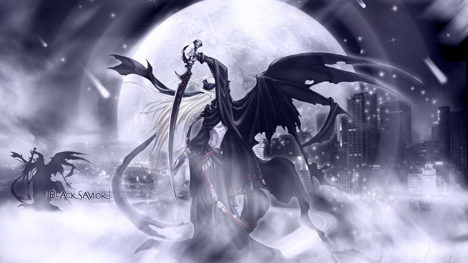 Anime - Black Savior  Wallpaper