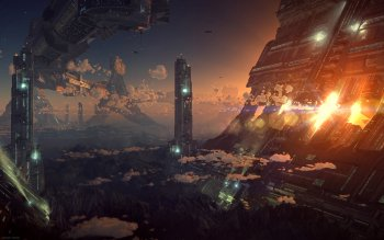 Science-Fiction - Großstadt Wallpapers and Backgrounds ID : 149379