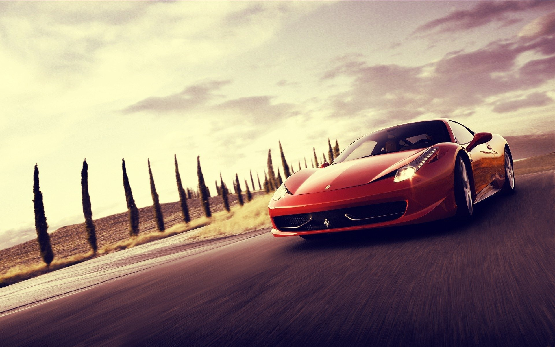 Vehicles - Ferrari  Red Car Sport Car Ferrari 458 Wallpaper