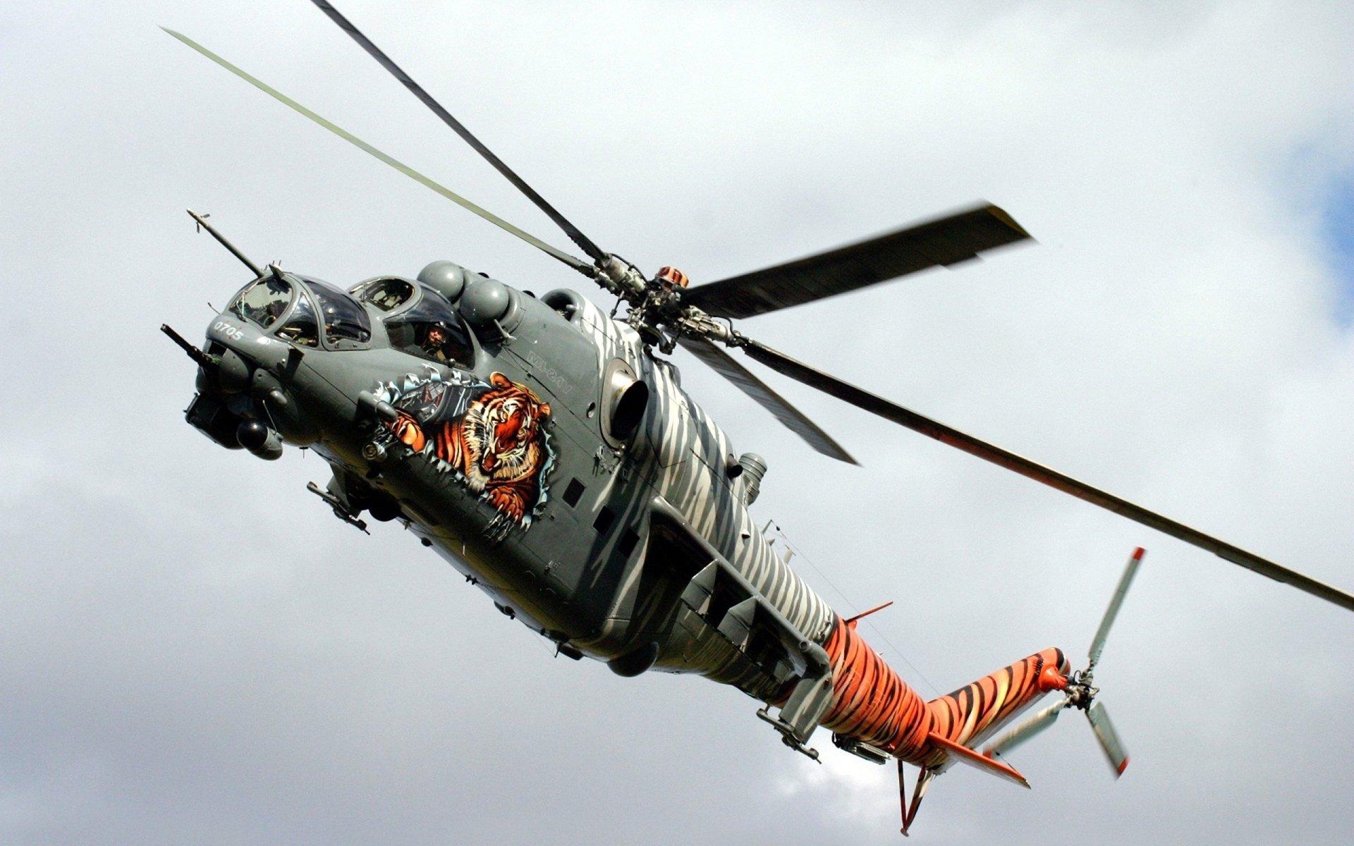 Military - Mil Mi-24  Mi-24 Wallpaper