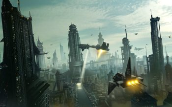 Science-Fiction - Großstadt Wallpapers and Backgrounds ID : 150199