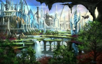 Fantasy - City Wallpapers and Backgrounds ID : 150349