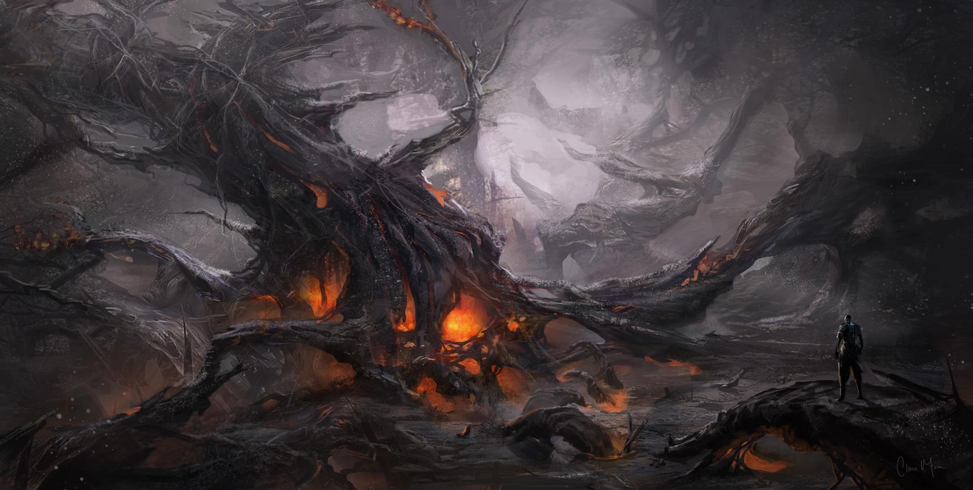 evil landscape background - photo #11