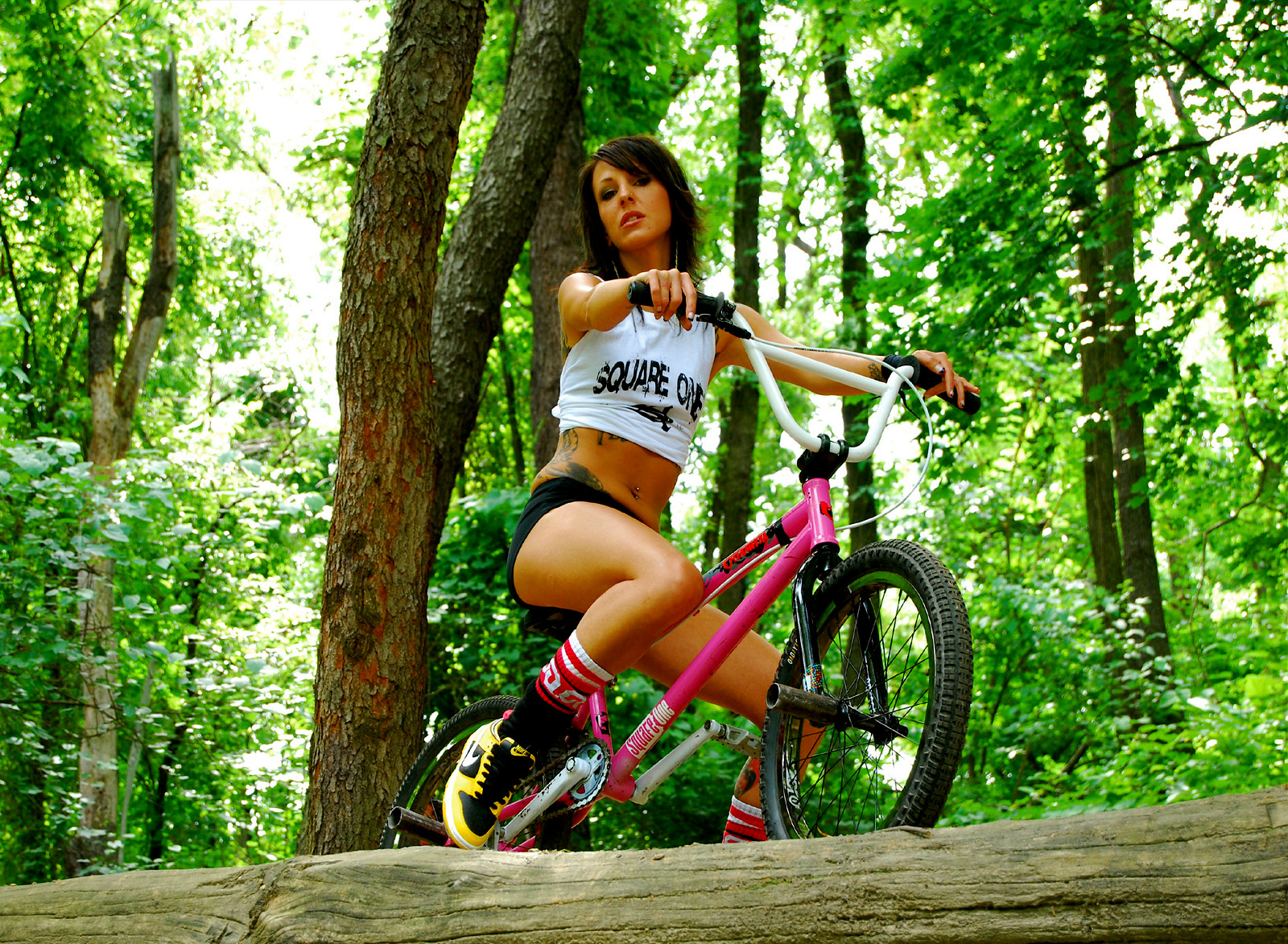 bmx and girl wallpaper - photo #12